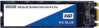 Western Digital 西部数据 WD Blue 3D NAND 内部硬盘,PC SSD-SATA III 6 Gb / s,M.2 2280,至高560 MB / s-WDS500G2B0B,500GB