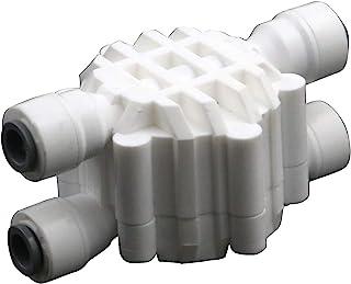 T Tulead 关闭阀 1/4 英寸(约 0.6 厘米)塑料阀门水关闭阀更换