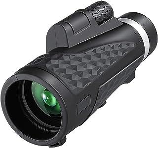 18X62 大功率单目智能手机支架手机 2021 *新防水单目望远镜适用于运动观鸟、旅游、狩猎、露营、海滩监控