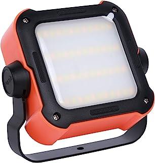 LED 工作灯便携式可充电USB露营泛光灯带 1000 mAh 移动电源户外防水应急灯 适用于汽车修理工作现场照明露营徒步。