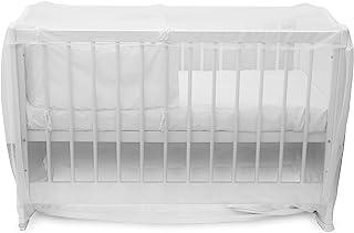 Alecto BV-22 婴儿床蚊帐 - 婴儿防虫网 - 蚊帐旅行床 - 白色