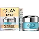 Olay 高保湿眼霜 让眼部疲倦和干燥,含有透明质酸 黄瓜精华 烟酰胺和肽 滋养和清新眼部 15 毫升