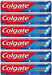 Colgate 高露洁 含氟防蛀牙膏-6盎司/170克(6件装)