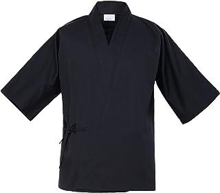 日本厨师服寿司餐厅制服七分袖厨师和服 男女适用