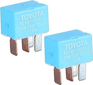 HONGYETAJA 2 件装 AC 冷却风扇继电器 OEM 90987-02027 90080-87026
