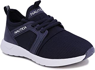 Nautica 诺帝卡 儿童系带运动鞋 舒适跑鞋 -   男孩 - 女孩 小童/大童