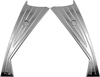 BRIGHTZ C-HR 10 11 50 后期 超镜面不锈钢电镀雾灯罩 4PC 有雾灯 【 FOG-COV-358 】 NGX10 NGX50 ZYX10 ZYX11 NGX ZYX X10 X50 CHR