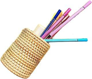 藤编编织篮、笔架、办公桌的杯架 多种用途