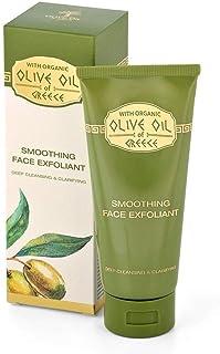 光滑面部去角质橄榄油