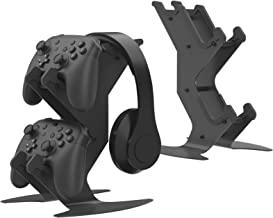 游戏耳机控制器支架,桌面控制器支架,适用于 NS ,PS5,PS4,360,Xbox Sereis X - 宇宙支架,适用于游戏控制器,游戏手柄电缆耳机手机