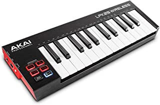 Akai Professional LPK25 无线 | 25 迷你键蓝牙 MIDI 键盘,适用于 iOS、PC 和 Mac