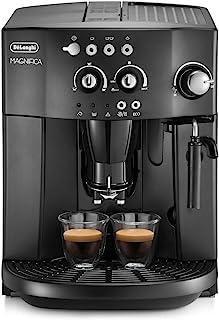 De'Longhi 德龙 超自动浓缩咖啡机,带有可调节的研磨器,奶泡器,冲泡浓缩咖啡机,卡布奇诺咖啡,ESAM4000 Magnifica