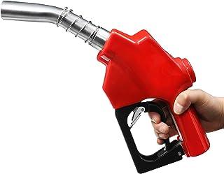 ZL-120L 红色自动燃油喷嘴,1 英寸(约 2.54 厘米)NPT 入口,1-3/16 英寸(约 3.4 厘米)喷嘴,自动关机,适用于汽油柴油燃料加装