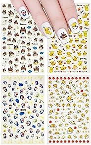 Allydrew Pokemon、Gudetama、Totoro & Doramon