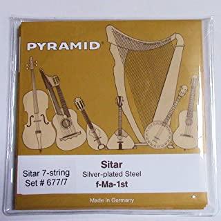 金字塔西塔琴弦 Ravi Shankar 风格 7 弦,重(中号)
