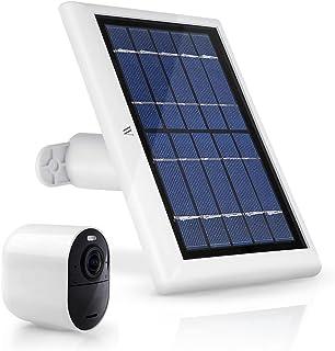 Wasserstein 2W 6V 太阳能电池板,带 13.1 英尺/4 米电缆,兼容 Arlo Ultra/Ultra 2、Arlo Pro 3/Pro 4 和 Arlo 泛光灯(1 件装),白色(不兼容 Arlo Essential 聚光灯)
