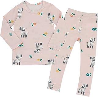 MiNi-K 男婴女孩睡衣套装 幼儿舒适棉质睡衣套装 适合日常穿着