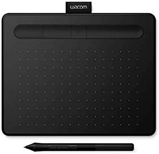 Wacom Intuos S, Bluetooth Pen Tablet, Wireless Graphic Tablet for Painting, Sketching and Photo Retouching with 2 Free Cre...