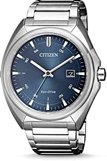CITIZEN 西铁城 男士指针式石英手表不锈钢表带 AW1570-87L