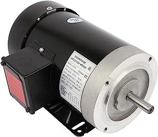 Cuilvu 3/2HP 空气压缩机电动机,三相通用电机 5/8 轴直径 4 极,60HZ,1750RPM,230/460V