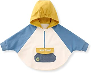 pureborn 婴儿幼儿男孩斗篷婴儿连帽汽车座椅斗篷春季秋季外套