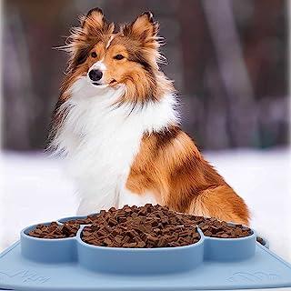Fun FeederPet 食物垫,宠物硅胶碗垫,宠物喂食垫,防水狗猫垫优质硅胶不粘