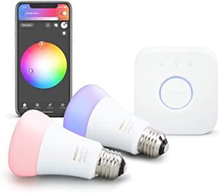 Philips Hue White and Color Ambiance 智能照明设备 柔和白色 536474