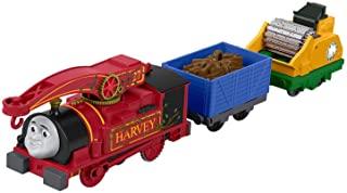 Thomas & Friends FJK53 有用的哈维(Harvey),托马斯(Thomas)坦克引擎,Trackmaster玩具引擎,玩具火车(适合3岁的人群)