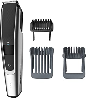 Philips Norelco Beard Trimmer Series 5000, BT5511/49, 电, 无绳, 单人通过胡须和stubble 修剪器