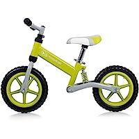 德国 KinderKraft可可乐园EVO Runner Bike儿童平衡车无脚踏滑行车双轮学步车减震避震自行车浅绿色