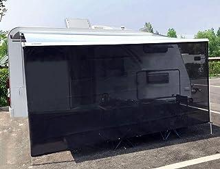 Tentproinc RV 遮阳篷遮阳罩 17.78 厘米 X 30.56 厘米黑色全套套件房车露营拖车紫外线*篷遮篷 - 3 年有限保修