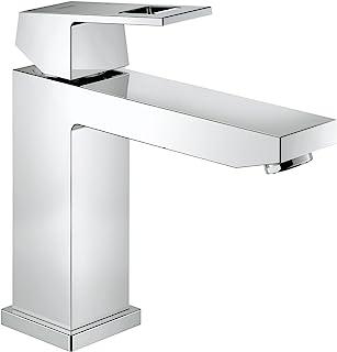 GROHE 高仪 Eurocube 单把浴室面盆龙头,带限温器 23446000,M号,镀铬
