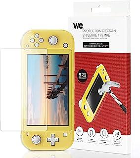 Nintendo 任天堂 Switch Lite 屏幕保护膜 9H 钢化玻璃 - 防刮 - 透明 - 包括清洁套装