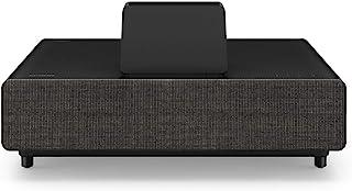 EPSON 爱普生 家庭影院投影仪 EH-LS500B 安卓电视版 3LCD,4K PRO-UHD,激光,超短投距超分辨率,4000 流明,130 英寸显示屏 - 黑色