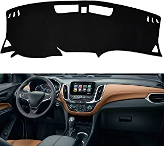 PTNHZ 仪表板仪表板 仪表板 保护垫 适用于 18-20 雪佛兰 Equinox SUV
