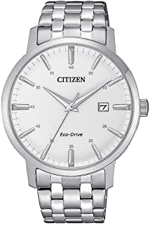 Citizen 西铁城 男士 指针 光动能手表 不锈钢表带 BM7460-88H