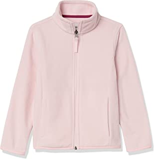 Amazon Essentials 女童摇粒绒全拉链立领夹克