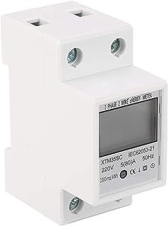 LANTRO JS - XTM35SC 数字单相能量计,220V 5(80) A 单相 2 线 DIN-Rail 电表电子 KWh 电表