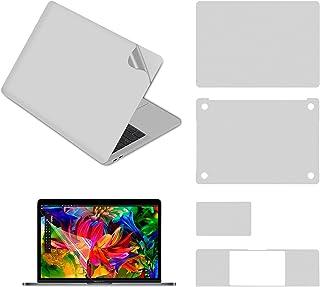 Pwkutn 5 合 1 笔记本电脑全身保护皮肤贴花贴纸适用于 MacBook Pro 13 英寸带触控栏 (A2159 A1706 A1708 A1989) Macbook Pro 13 (2020-A2251)