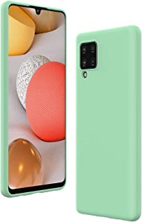 Cresee 兼容三星 Galaxy A42 5G 手机壳,薄硅胶保护套,带超细纤维内饰防刮超薄贴合灵活手机壳 - *