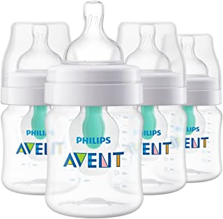 PHILIPS AVENT 防脹氣嬰兒奶瓶 透明 4 Pack