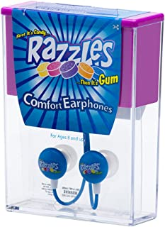 Candy Comfort Earphones 3.5mm Stereo Headsets 耳道式/入耳式Razzles