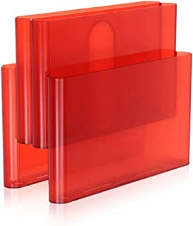 Kartell 杂志架礼品配件,红色,18.5 x 34.5 x 34.5 厘米