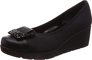 [一段舒适设计] 浅口鞋 日本制造 美腿 休闲浅口鞋 女士 厚底 IM39604