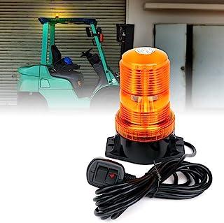 Xprite 琥珀色 LED 叉车灯 *警示闪光灯 带点烟器 适用于割草机、ATV、卡车、拖拉机、高尔夫球车、UTV、汽车、巴士