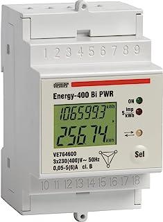 Vemer ve764600 能量计数 400 Bi PWR 三相系统双向取样/交通,白色