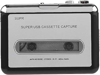 卡带播放器,卡带到 MP3 转换器,通过 USB 便携式磁带转换器可捕获 MP3 音频音乐,卡带到 MP3 / 适用于 iPod / CD