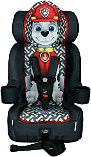 KidsEmbrace Paw Patrol Booster Car Seat, Nickelodeon Marshall Combination Seat, 5 Point Harness, Black, 3001MAR