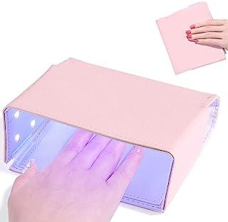 UV LED *灯,MUSE TOY 可折叠便携式*灯凝胶灯,USB 插头,18 个灯珠,54 瓦,快速干燥旅行*干燥器,粉色
