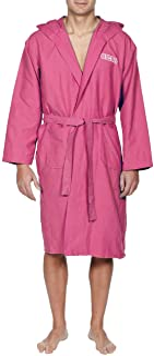 arena 阿瑞娜 男女通用超细纤维浴袍 Zeal(轻巧,速干,大兜帽,腰带,2 个口袋)